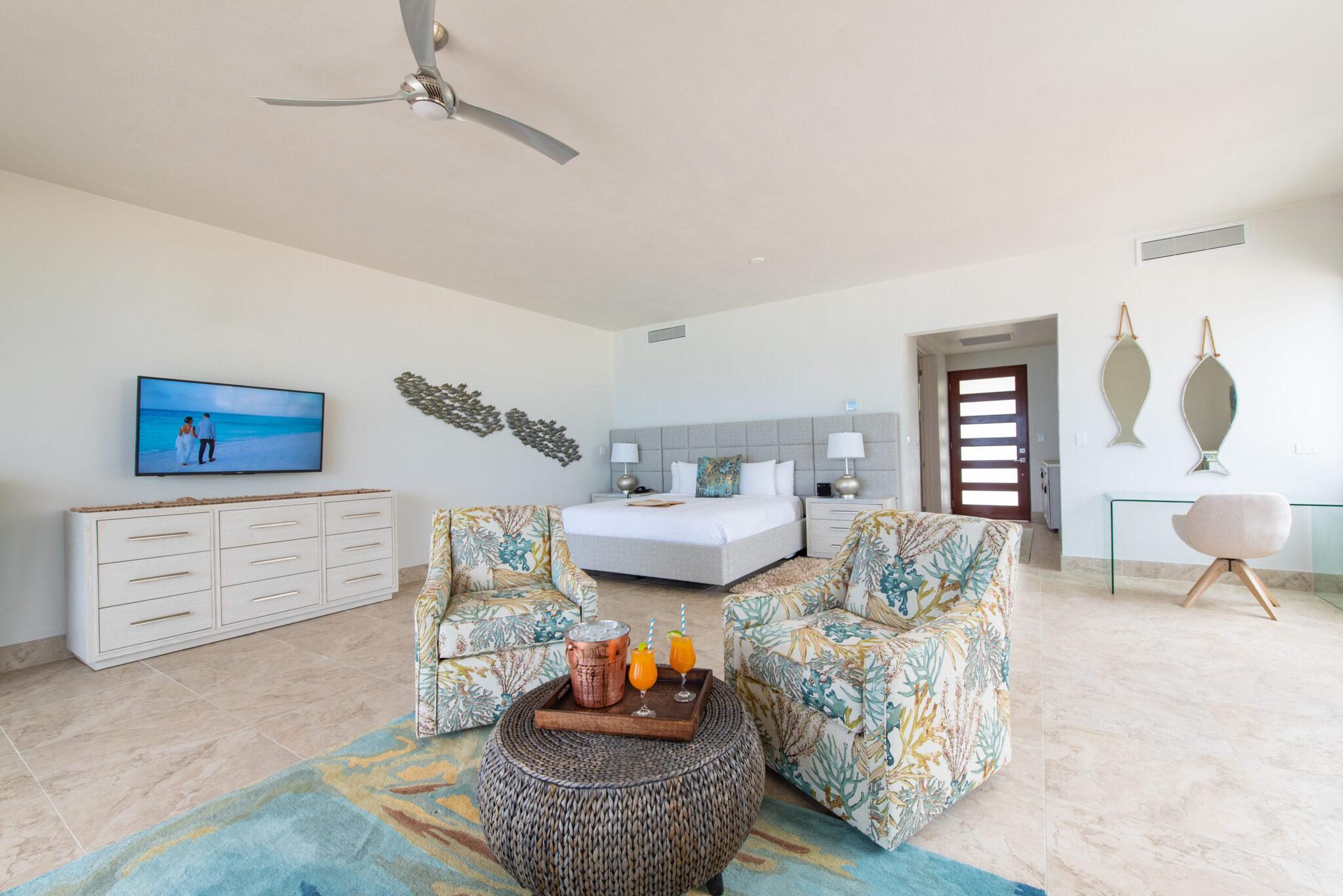 Deluxe Ocean View Rooms, Frangipani Resort Anguilla